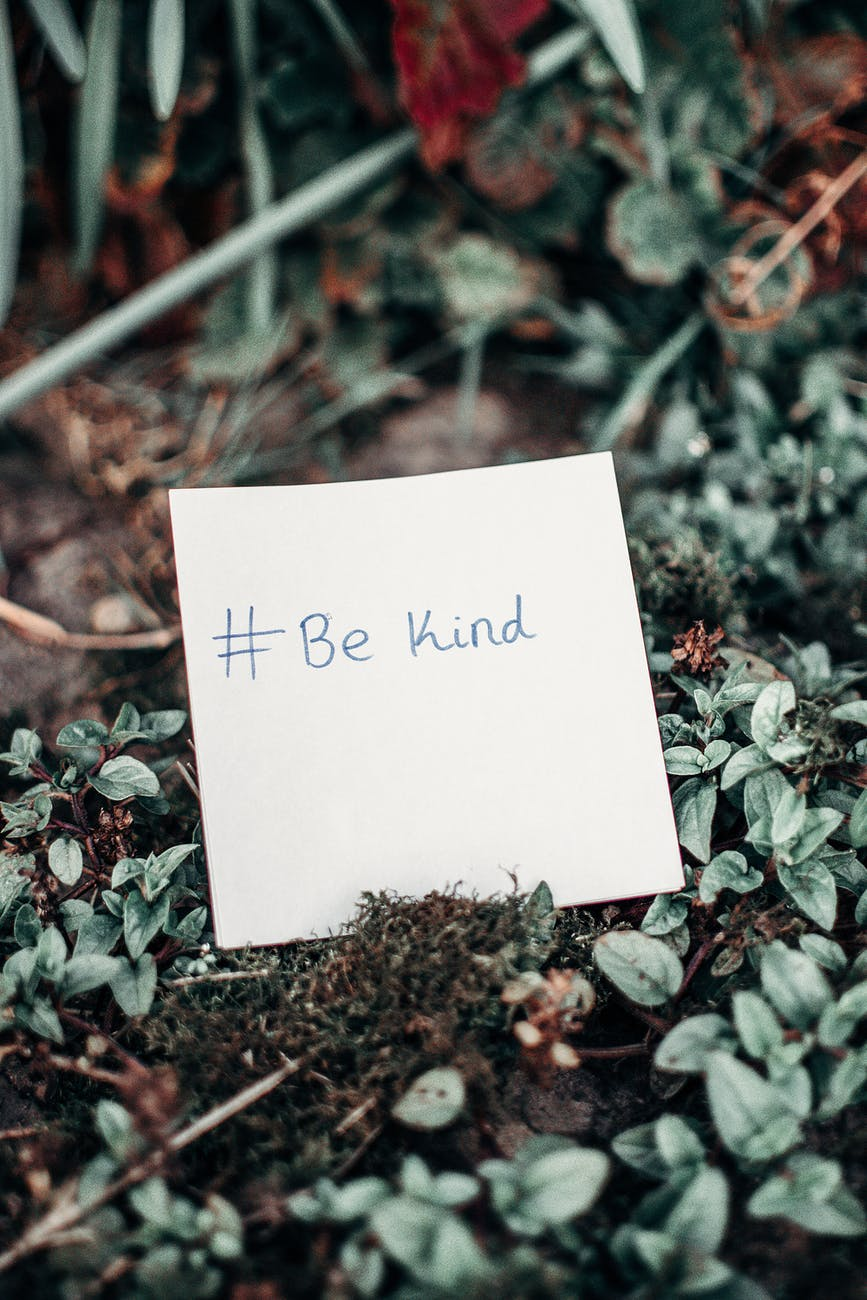 Kindness matters, and not just during Mental Health Awareness Week.