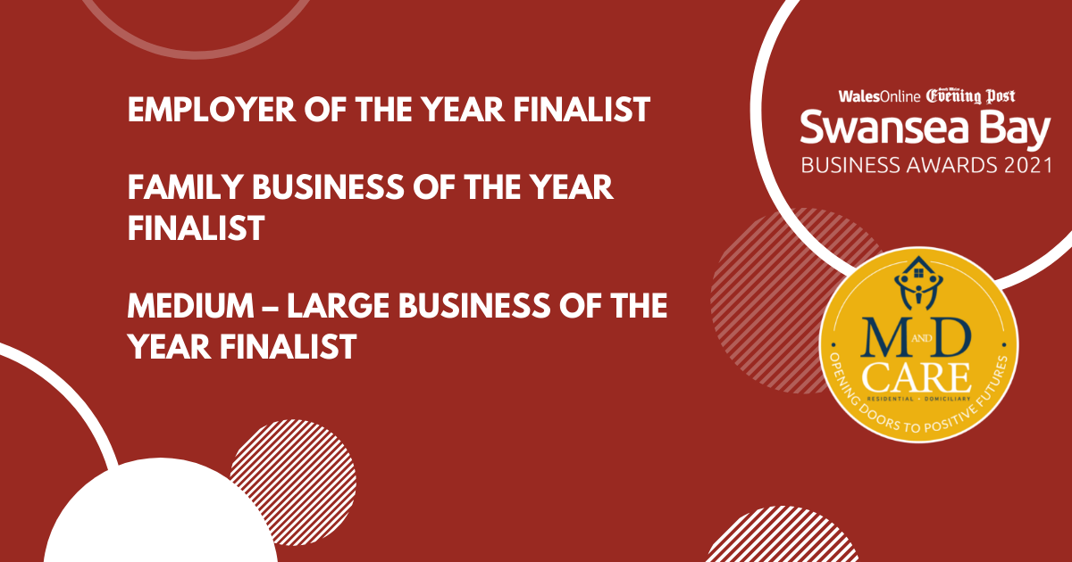 Finalists Announcement Swansea Bay Business Awards 2021