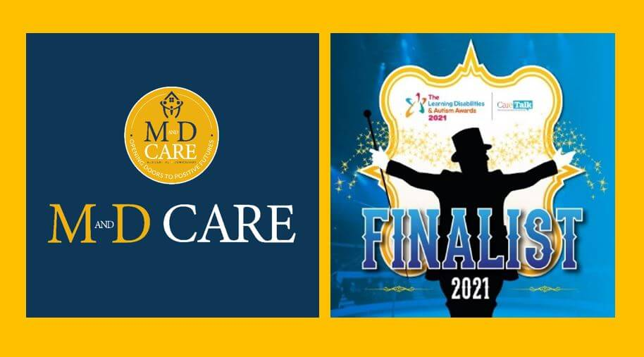 The National Learning Disabilities Awards M&D Care Finalists 2021